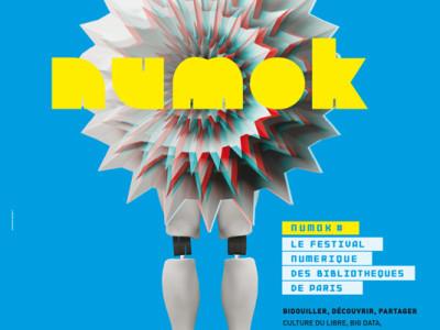NUMOK – Festival numérique des bibliothèques (Paris)