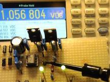 Testeur simple d'amplificateur opérationnel
