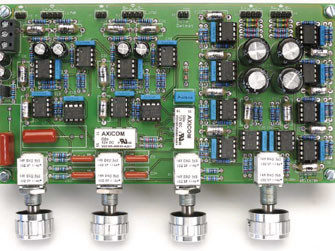 Preamplifier 2012 (1) - introduction and line-in/tone/volume board (110650)