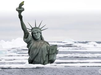 « [...] le réchauffement climatique inventé par et pour les Chinois [...] »