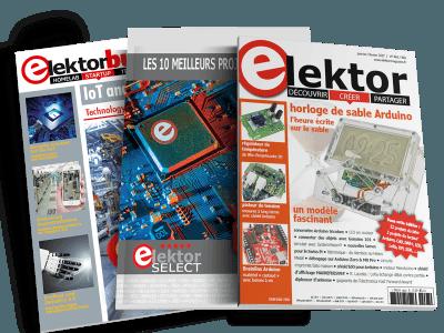 Inscription à la lettre d'information Elektor