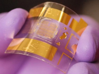 Transistor flexible