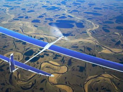 Projet SkyBender : la 5G par drones solaires