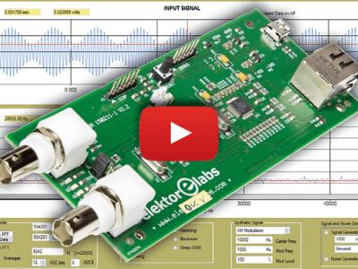 Analyseur de signaux universel par Ethernet