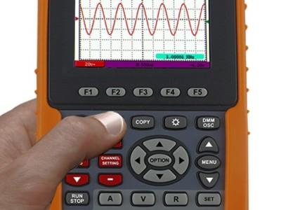 Banc d'essai : oscilloscope/multimètre portatif OWON HDS1021M-N
