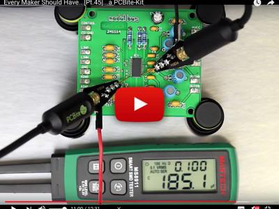 PCBite : les sondes de mesure qui tiennent toutes seules