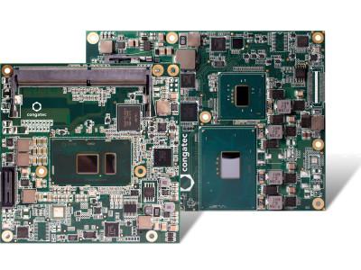 Nouveaux modules COM Express de congatec  équipés des derniers processeurs Intel Celeron ('Skylake')