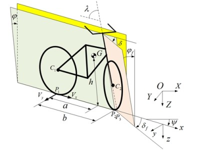 Cette bicyclette à équilibre asservi roule toute seule