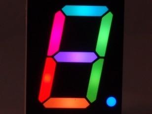 Comment fabriquer un afficheur à 7 segments polychrome