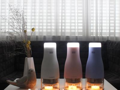 Lampe à LED alimentée par bougie
