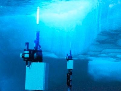 Un réseau de robots sentinelles sous la glace antarctique