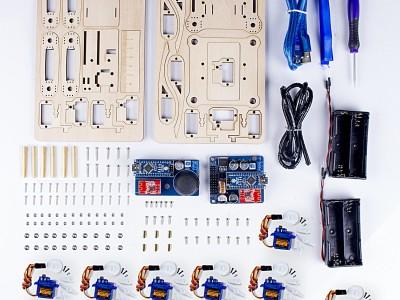Banc d'essai : SunFounder - Robot quadrupède à télécommande V2.0