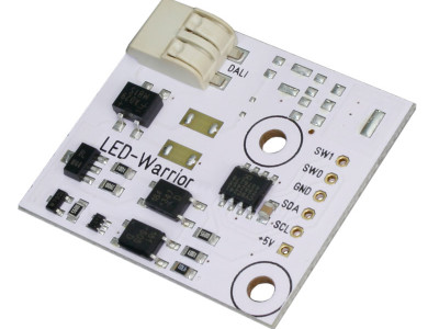 Modules de commande d'éclairage sans fil avec DALI
