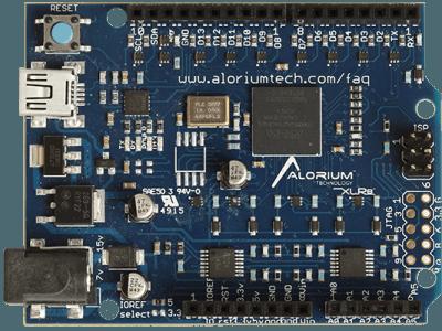 Carte XLR8 : Arduino Uno émulé dans un FPGA