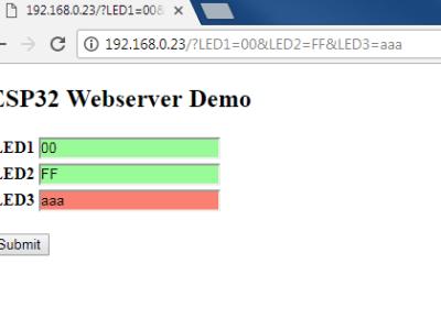 Mon voyage dans le nuage (19) : serveur Web simple avec l'ESP32