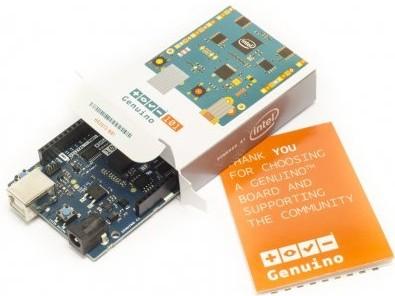Premiers pas avec la carte Arduino/Genuino 101