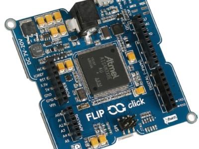 Banc d'essai : carte FLIP&click = Arduino + mikroBus + Python
