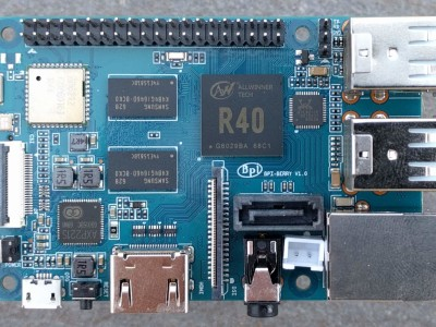 Banc d'essai : Banana Pi BPI-M2 Berry, l'interface SATA en plus