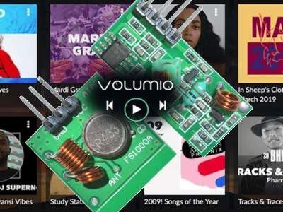 Télécommande à petit prix pour Volumio sur Raspberry Pi