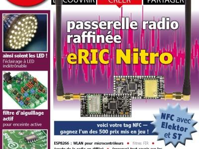 Janvier-février 2016 : le nouveau numéro d'Elektor vient de paraître