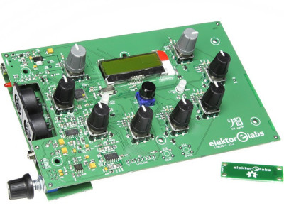 Banc d'essais : module du synthé J²B assemblé et testé par des pros !