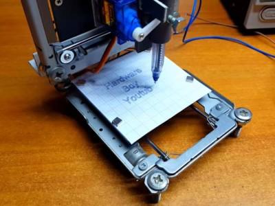 Machine à commande numérique en pièces de récup'