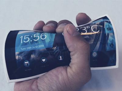 Le téléphone flexible sera bientôt une réalité
