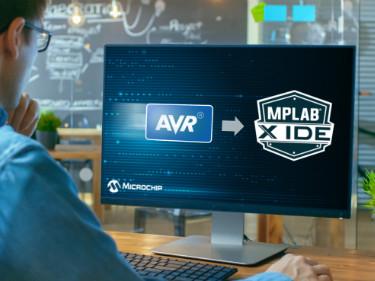 Les microcontrôleurs AVR® désormais pris en charge par l'environnement de développement MPLAB® X (bêta)