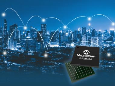 Accélérez le développement de réseaux d'objets connectés grâce à la  famille de SiP LoRa® la moins gourmande en énergie