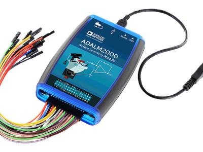 Téléchargement offert : ADALM-2000 – labo d'électronique de poche