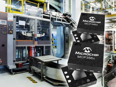 Nouveaux CA/N delta-sigma de Microchip : haut débit de données et grande précision
