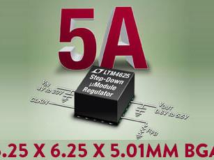 Un régulateur abaisseur dans un demi-centimètre carré