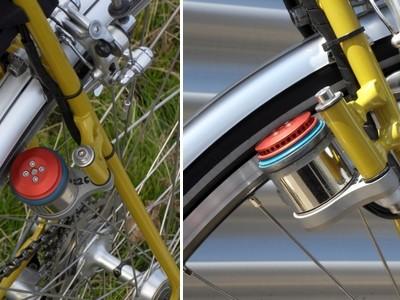 Kit d'électrification de vélo avec entraînement par friction