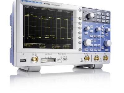 RTC1000 : Rohde & Schwarz a aussi des oscilloscopes pour petit budget!