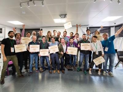 La promotion 2016 du programme d'accélération Startupbootcamp
