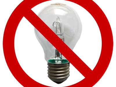 Les lampes à halogène haute tension sont bannies depuis le 1er septembre