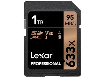 Lexar annonce une carte SD d'1 To