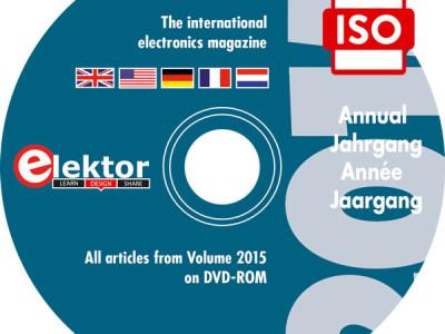 Elektor DVD 2015 Téléchargement pour les abonnés