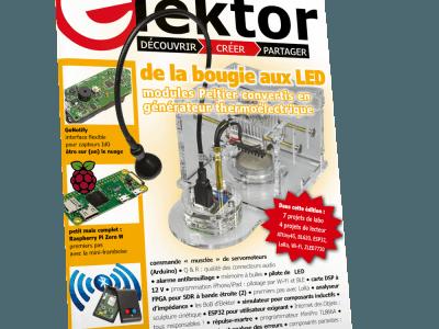 Le nouveau numéro d'Elektor (septembre-octobre 2017)