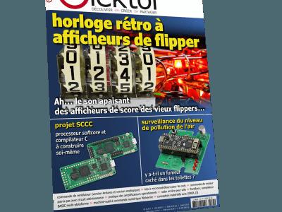 Le nouveau numéro d'Elektor (mars-avril 2019)