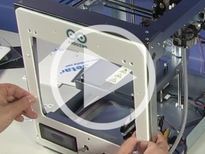 Elektor.TV | Arduino... Imprime-moi quelque chose ! ♫ Construire l'imprimante 3D Materia 101