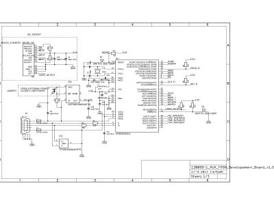 Microcontroller + microSD card socket