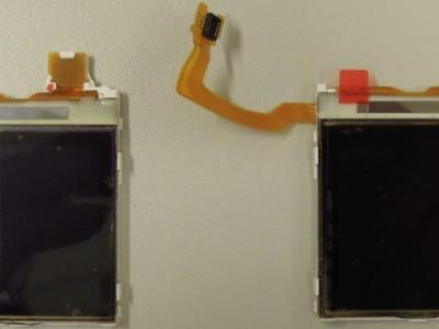 2 Nokia Displays (front view)