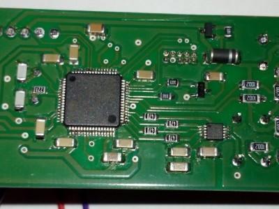 Prototype bottom side