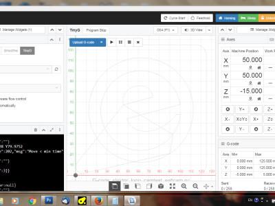Screenshot of CNCjs