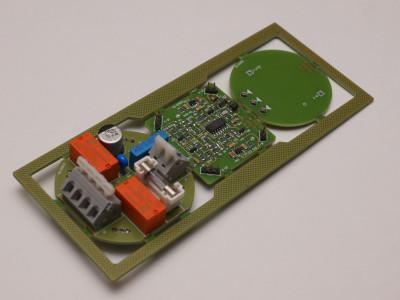 Assembled PCB, TOP
