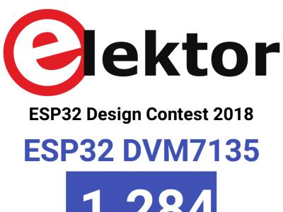 ESP32 DVM7135 - Android Bluetooth APP