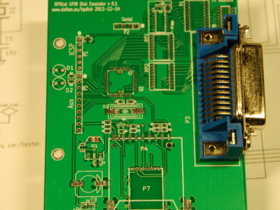 Alternative solution with a GPIB Socket