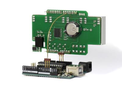 RGBDigit shield impression back