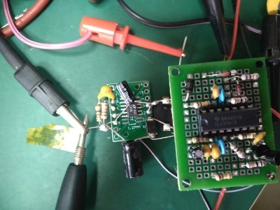 TCL556 with the DCDC to 12V